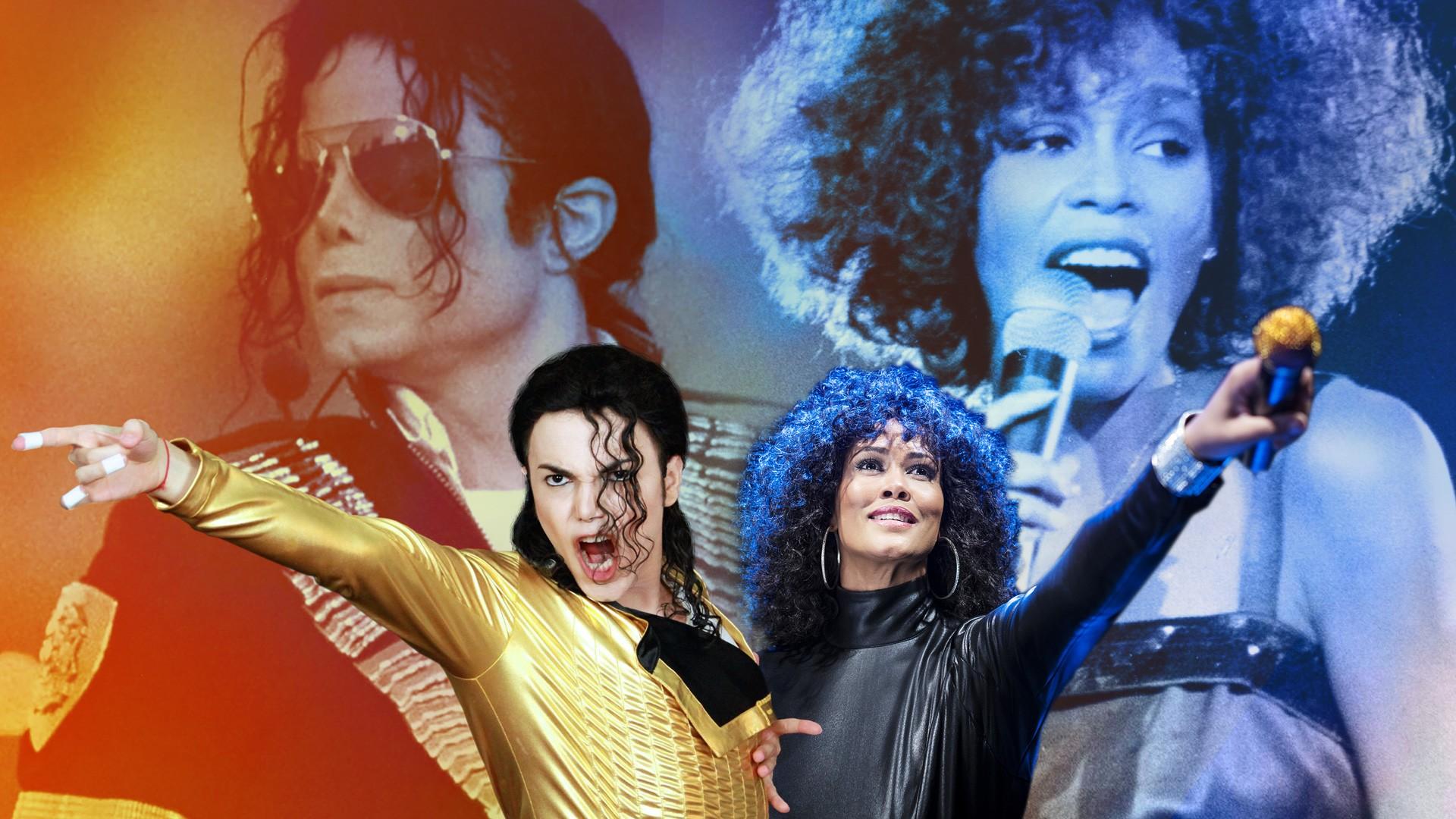 """""""Майкл Джексон и Уитни Хьюстон Шоу"""""""