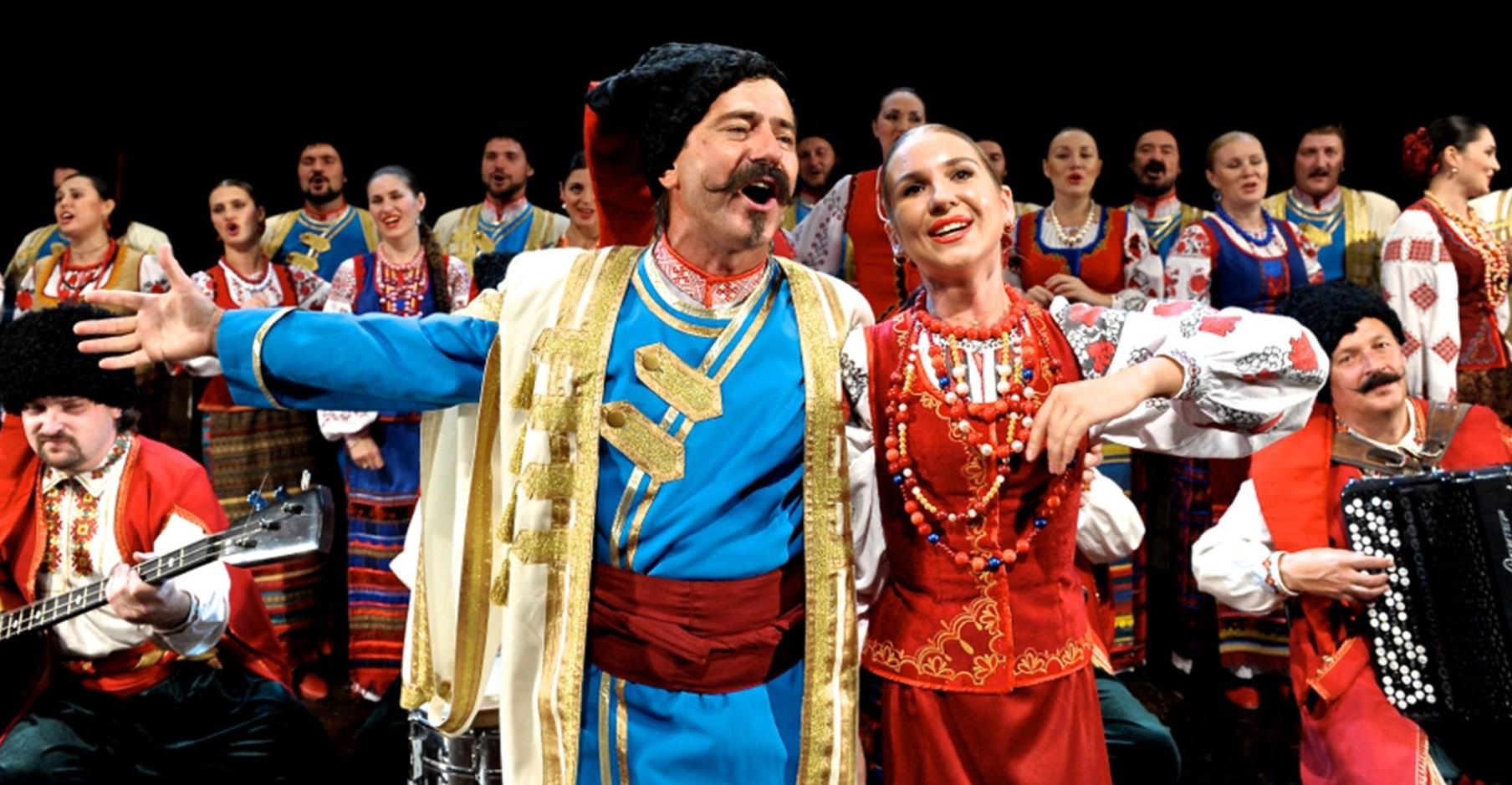 Рождественский концерт Кубанского казачьего хора
